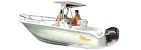 Sea Chaser 210 Roll Gunnel Carolina Skiff Boat Covers