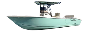 Sea Chaser 24 HFC Carolina Skiff Boat Covers