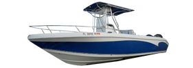Sea Chaser 2400 CC Offshore Carolina Skiff Boat Covers