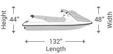 2-3 Seater Jet Ski Covers