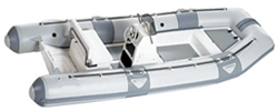 Inflatable Boats - Blunt Nose with Tall Center Console up to 54