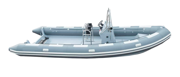 Inflatable Boats - Sport Type with Center Console Inflatable Boat Covers