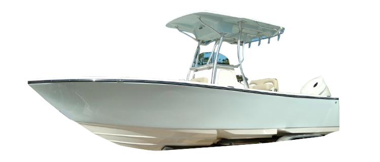 Center Console Boat with T-Top Center Console Boat Covers | Custom Sunbrella® Center Console Covers | Cover World