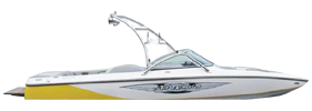 Air Warrior Elite Bowrider Centurion Boat Covers | Custom Sunbrella® Centurion Covers | Cover World