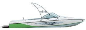 Air Warrior Elite C4 Centurion Boat Covers | Custom Sunbrella® Centurion Covers | Cover World