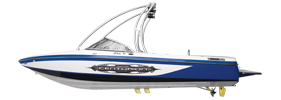 Air Warrior Elite V C4 Centurion Boat Covers | Custom Sunbrella® Centurion Covers | Cover World