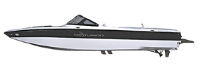 Elite V-Drive Centurion Boat Covers | Custom Sunbrella® Centurion Covers | Cover World