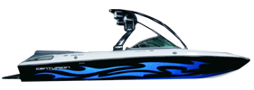 Enzo SV220 Centurion Boat Covers | Custom Sunbrella® Centurion Covers | Cover World