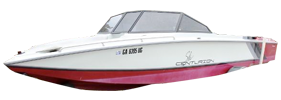 Falcon BR Centurion Boat Covers | Custom Sunbrella® Centurion Covers | Cover World