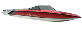 Falcon XP Closed Bow Centurion Boat Covers | Custom Sunbrella® Centurion Covers | Cover World