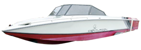 Falcon XP Open Centurion Boat Covers | Custom Sunbrella® Centurion Covers | Cover World