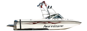 Hurricane Elite V-Drive Centurion Boat Covers | Custom Sunbrella® Centurion Covers | Cover World