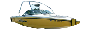 Tornado Elite Centurion Boat Covers | Custom Sunbrella® Centurion Covers | Cover World