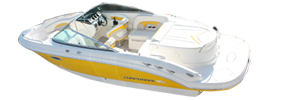 236 SSX Sterndrive Chaparral Boat Covers | Custom Sunbrella® Chaparral Covers | Cover World