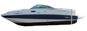 236 Sunesta Sterndrive Chaparral Boat Covers | Custom Sunbrella® Chaparral Covers | Cover World