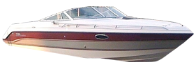 2550 SX Sterndrive Chaparral Boat Covers | Custom Sunbrella® Chaparral Covers | Cover World