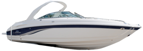 260 SSI Sterndrive Chaparral Boat Covers | Custom Sunbrella® Chaparral Covers | Cover World