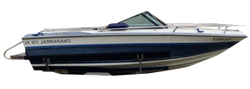178 XL Sterndrive Chaparral Bimini Tops | Custom Sunbrella® Chaparral Covers | Cover World