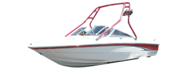 180 SS Sterndrive Chaparral Bimini Tops | Custom Sunbrella® Chaparral Covers | Cover World