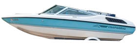 1800 SL Sterndrive Chaparral Bimini Tops | Custom Sunbrella® Chaparral Covers | Cover World