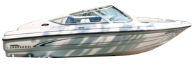 1830 SS Sterndrive Chaparral Bimini Tops | Custom Sunbrella® Chaparral Covers | Cover World