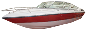 1850 SL Sterndrive Chaparral Bimini Tops | Custom Sunbrella® Chaparral Covers | Cover World