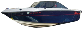 187 V Sterndrive Chaparral Bimini Tops | Custom Sunbrella® Chaparral Covers | Cover World