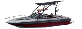 187 Xlc Sterndrive Chaparral Bimini Tops | Custom Sunbrella® Chaparral Covers | Cover World