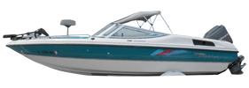 190 Gemini Outboard Chaparral Bimini Tops | Custom Sunbrella® Chaparral Covers | Cover World