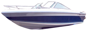 195 Xlc Sterndrive Chaparral Bimini Tops | Custom Sunbrella® Chaparral Covers | Cover World
