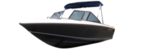 198 F Sterndrive Chaparral Bimini Tops | Custom Sunbrella® Chaparral Covers | Cover World
