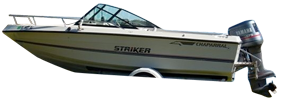 198 Striker Outboard Chaparral Bimini Tops | Custom Sunbrella® Chaparral Covers | Cover World