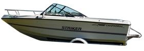 198 Striker Sterndrive Chaparral Bimini Tops | Custom Sunbrella® Chaparral Covers | Cover World