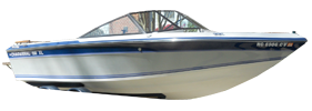198 XL Sterndrive Chaparral Bimini Tops | Custom Sunbrella® Chaparral Covers | Cover World