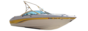 200 Ssi Sterndrive Chaparral Bimini Tops | Custom Sunbrella® Chaparral Covers | Cover World
