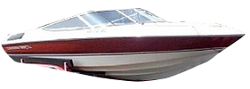 2000 SL Sterndrive Chaparral Bimini Tops | Custom Sunbrella® Chaparral Covers | Cover World