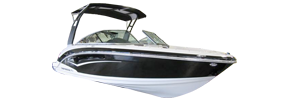203 Vortex VR Sterndrive Chaparral Bimini Tops | Custom Sunbrella® Chaparral Covers | Cover World