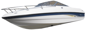 205 Sse Sterndrive Chaparral Bimini Tops | Custom Sunbrella® Chaparral Covers | Cover World