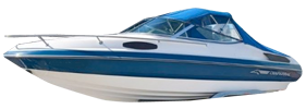 2050 SL Sterndrive Chaparral Bimini Tops | Custom Sunbrella® Chaparral Covers | Cover World