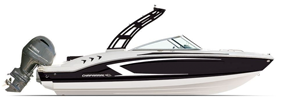 21 H20 Outboard Sport Chaparral Boat Covers