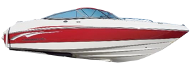 210 Ssi Sterndrive Chaparral Bimini Tops | Custom Sunbrella® Chaparral Covers | Cover World