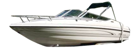 2135 SS Sterndrive Chaparral Bimini Tops | Custom Sunbrella® Chaparral Covers | Cover World