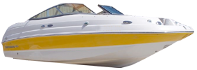 214 Sunesta Sterndrive Chaparral Bimini Tops | Custom Sunbrella® Chaparral Covers | Cover World