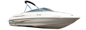 215 SS Sterndrive Chaparral Bimini Tops | Custom Sunbrella® Chaparral Covers | Cover World