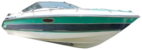 2150 SX Sterndrive Chaparral Bimini Tops | Custom Sunbrella® Chaparral Covers | Cover World