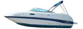 216 Sunesta Sterndrive Chaparral Bimini Tops | Custom Sunbrella® Chaparral Covers | Cover World