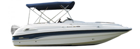 220 Sunesta Outboard Chaparral Bimini Tops | Custom Sunbrella® Chaparral Covers | Cover World