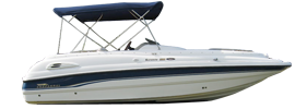 220 Sunesta Sterndrive Chaparral Bimini Tops | Custom Sunbrella® Chaparral Covers | Cover World