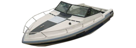 225 Xlc Sterndrive Chaparral Bimini Tops | Custom Sunbrella® Chaparral Covers | Cover World