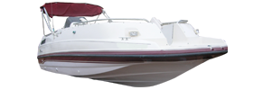 230 Sunesta Sterndrive Chaparral Bimini Tops | Custom Sunbrella® Chaparral Covers | Cover World